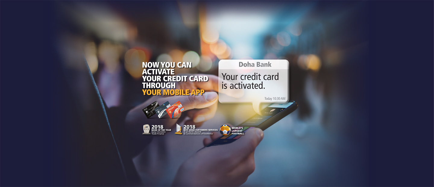 Activate your Credit Card