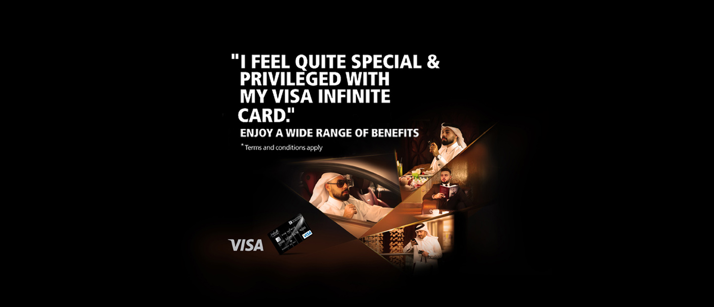 Al Riyada Visa Infinite Card