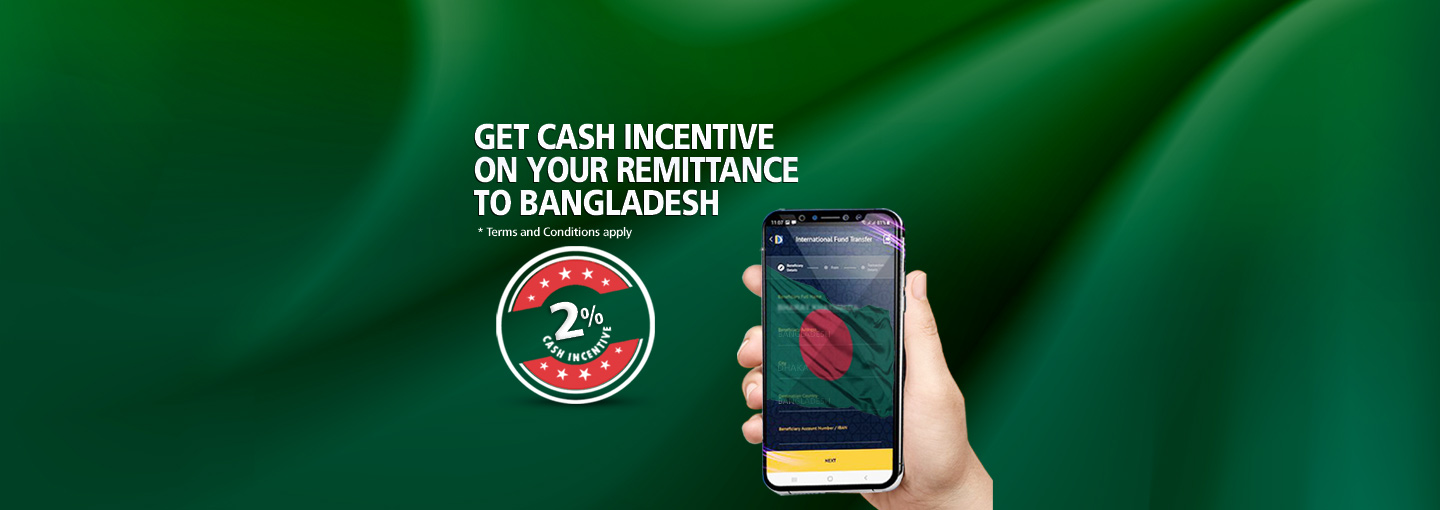 Cash Incentive on Remittance to Bangladesh
