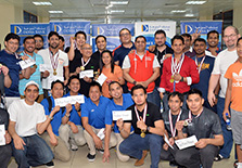 Doha Bank Hosts Inter-staff Bowling
