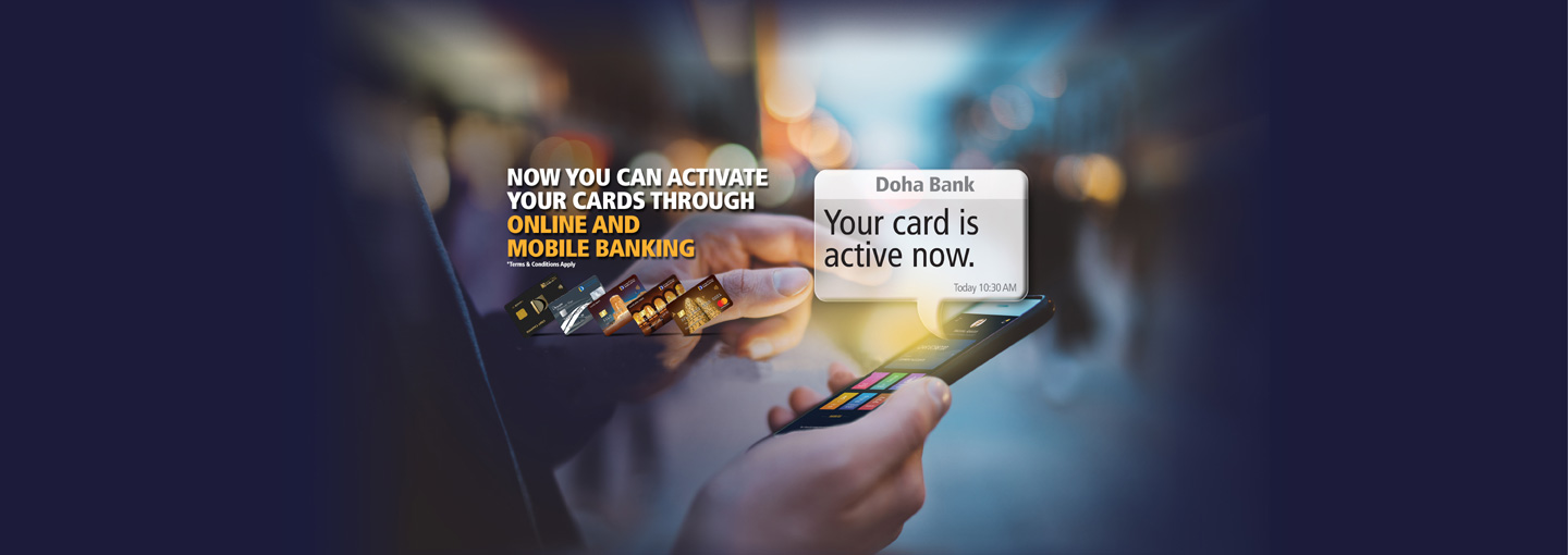 Instant Card Activation