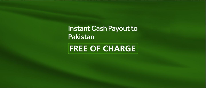 Instant Cash Payout Pakistan