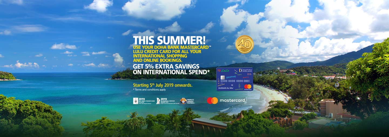 LULU 5% International Spend Offer - Doha Bank Qatar