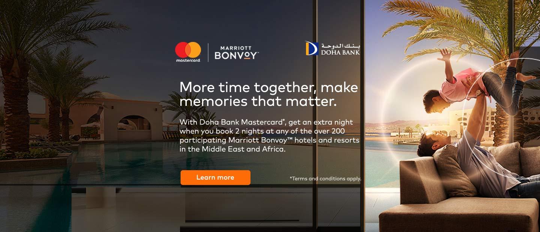 Free Nights at Marriott Bonvoy Hotels