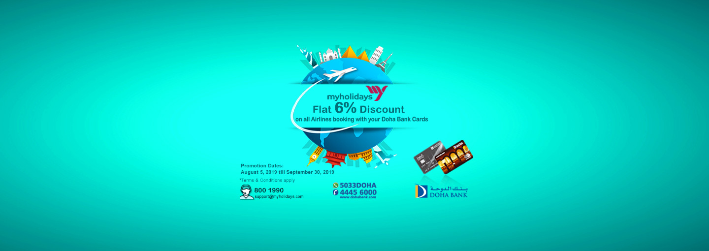 My Holidays Discounts Offer