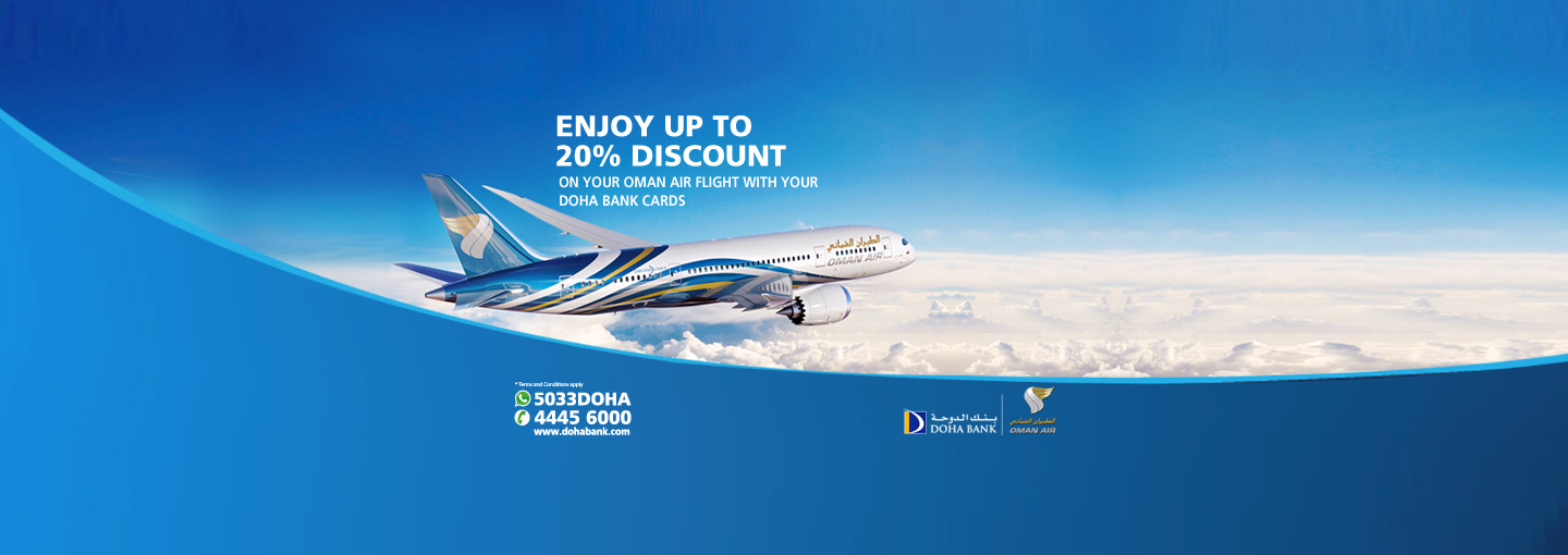 Oman Air Discounts offer