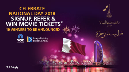 Qatar National Day 2018 Contest
