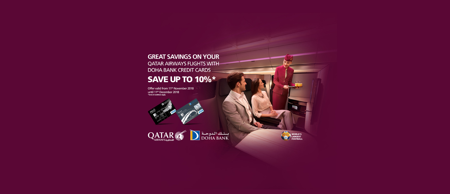 Qatar Airways Discounts Offer