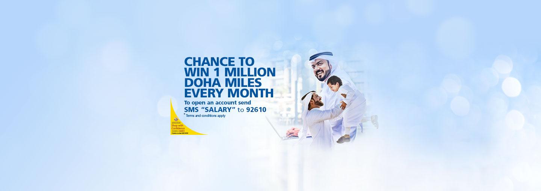 Transfer your Salary to Doha Bank