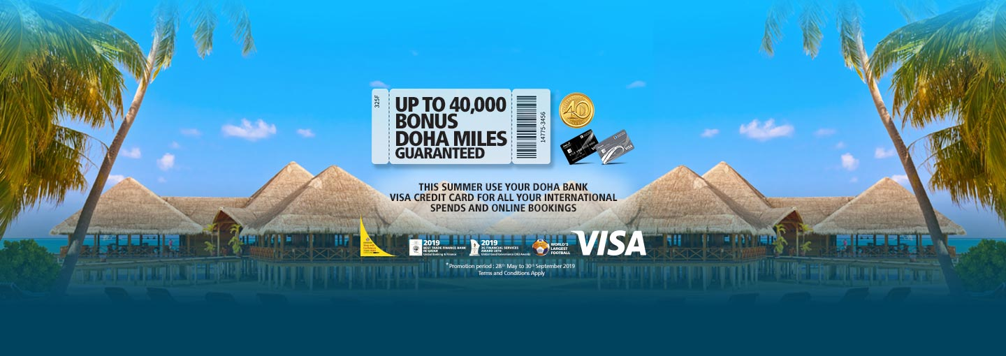 Travel with Doha Bank Cards