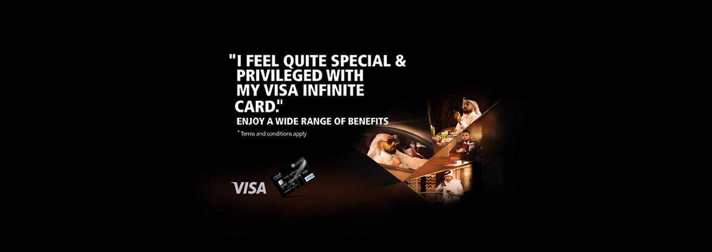 AL RIYADA Visa Infinite Credit Card